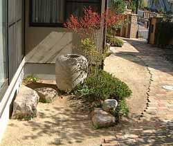 ナツメの坪庭